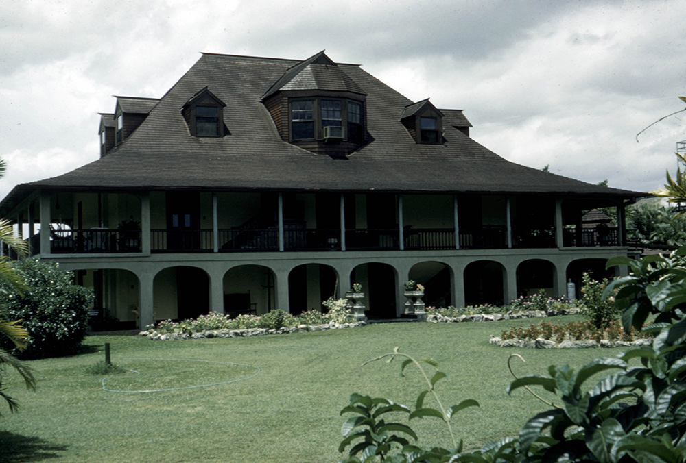 Plantation great house, Queen of Spain's Valley, Jamaica